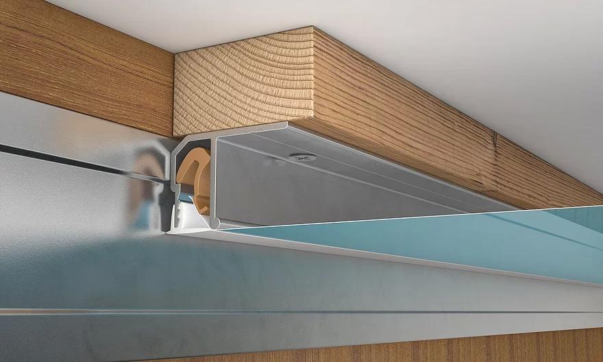 Монтаж подвесного потолка при помощи дополнительного бруса и г-образного профиля – крепления потолков