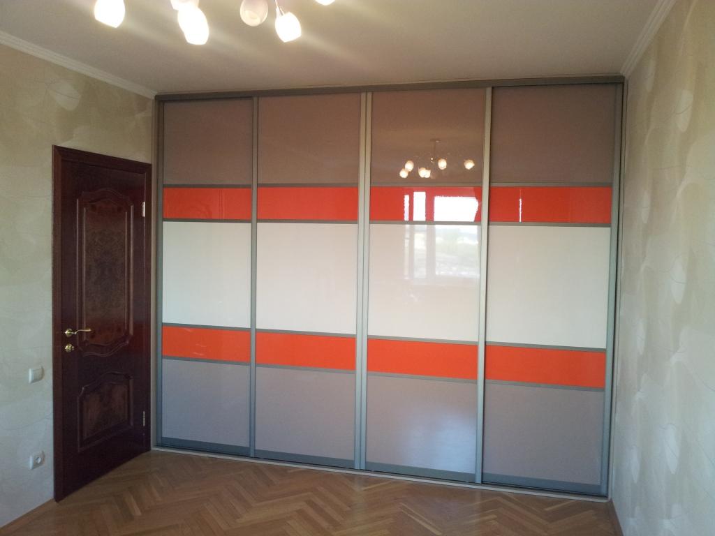 Шкафы-купе цветные стекла oracal (оракал)
