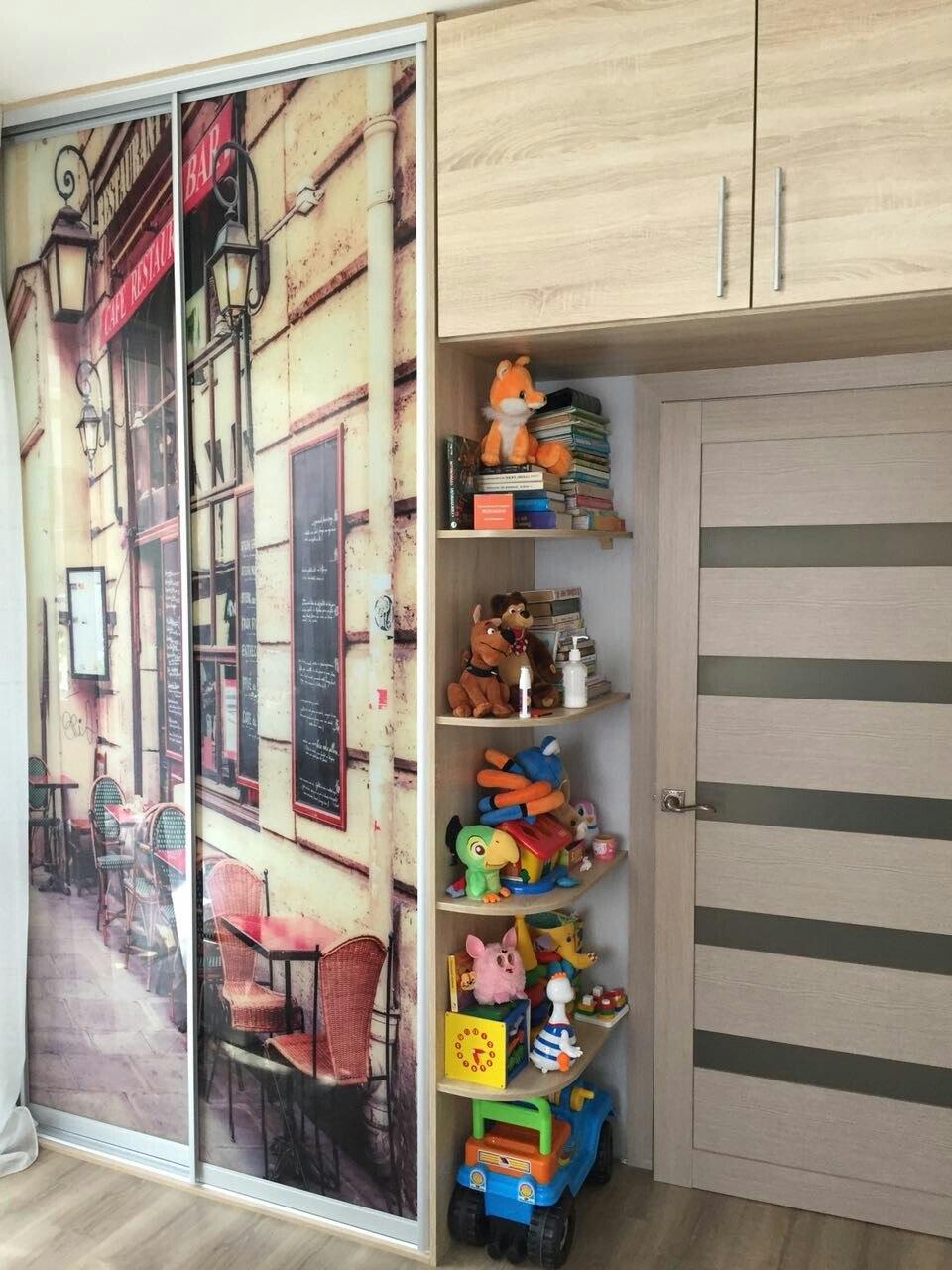Шкафы-купе с фотопечатью