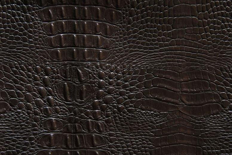 Образец искусственной кожи NW 3407 CROCOSHINE