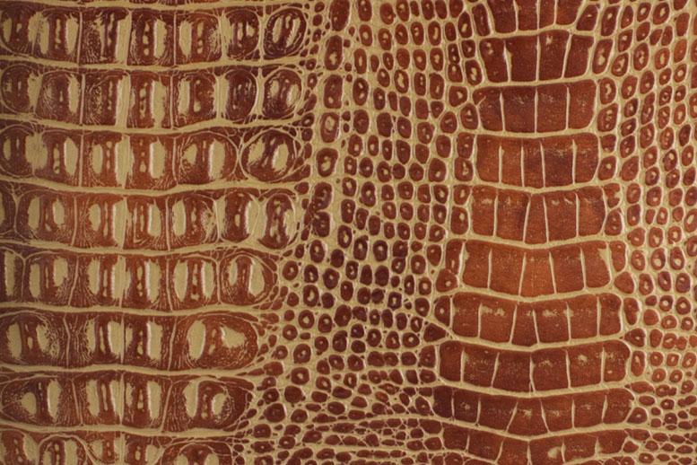 Образец искусственной кожи NW 3819 CROCOSHINE