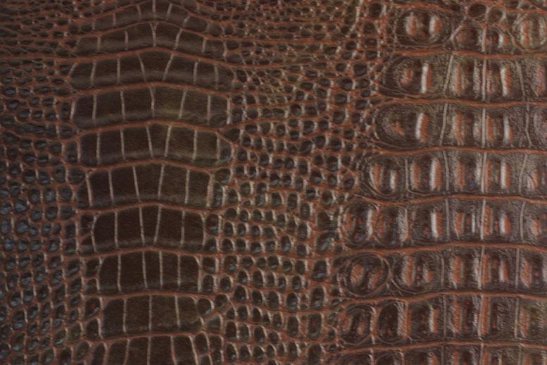 Образец искусственной кожи NW 3822 CROCOSHINE