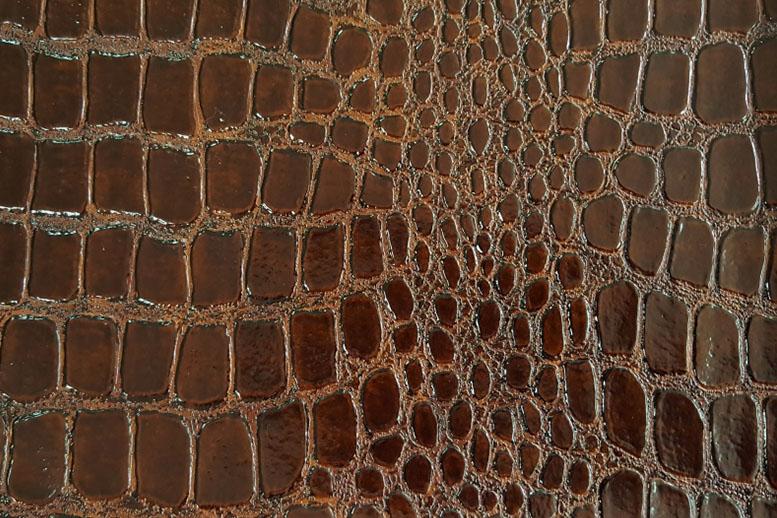 Образец искусственной кожи NW CAIMAN 20804