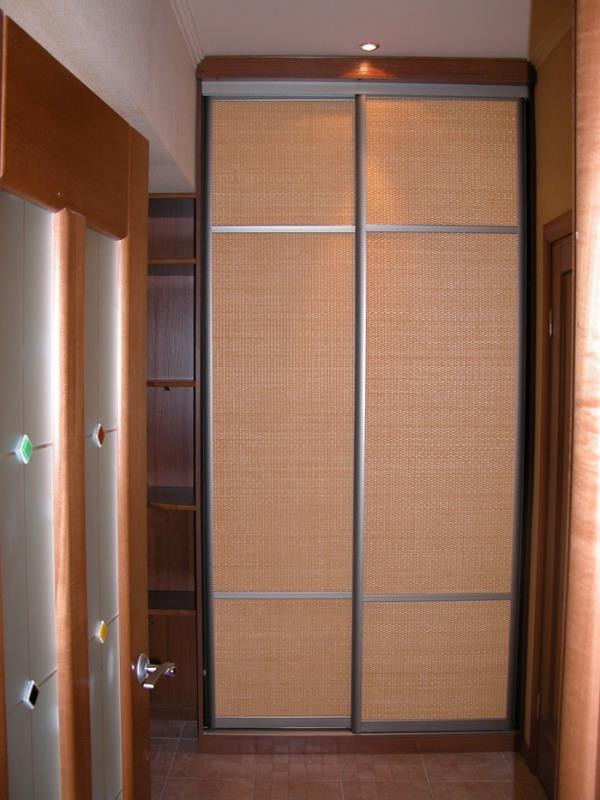 Шкафы-купе ротанг, бамбук