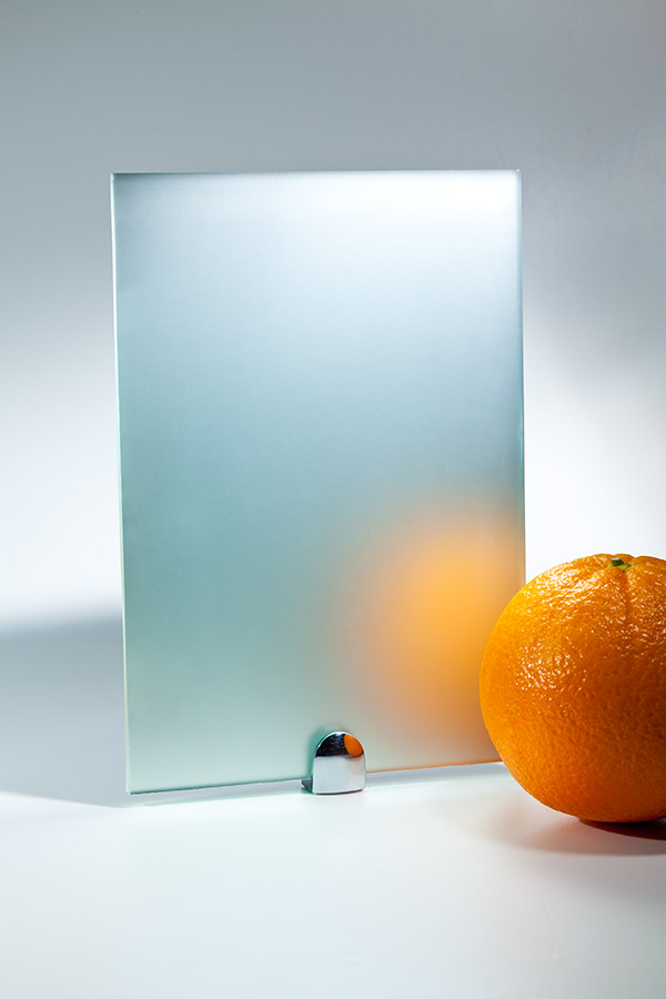 Прозрачное матовое зеркало (сатин)