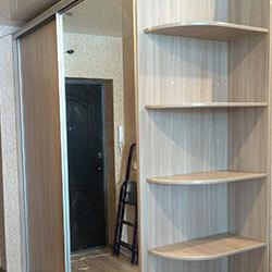 Встроенный шкаф-купе № 0922