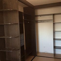 Встроенный шкаф-купе № 0925