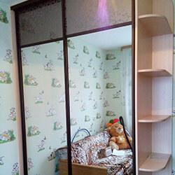 Встроенный шкаф-купе № 0930