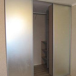 Встроенный шкаф-купе № 0102
