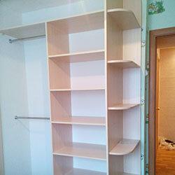 Встроенный шкаф-купе № 0931