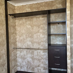 Встроенный шкаф-купе № 0933