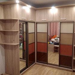 Встроенный шкаф-купе № 0935
