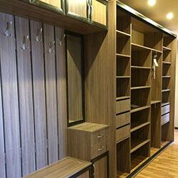 Встроенный шкаф-купе № 0940