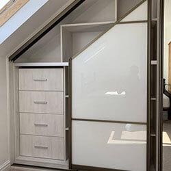 Встроенный шкаф-купе № 0944