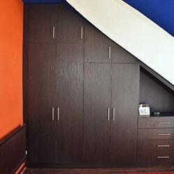 Встроенный шкаф-купе № 0945
