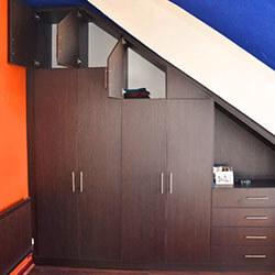 Встроенный шкаф-купе № 0946