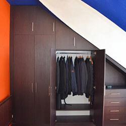 Встроенный шкаф-купе № 0947