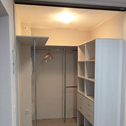 Встроенный шкаф-купе № 0955