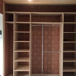 Встроенный шкаф-купе № 0958