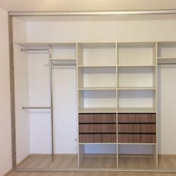 Встроенный шкаф-купе № 0962