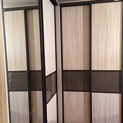 Встроенный шкаф-купе № 0967