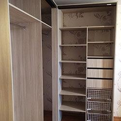 Встроенный шкаф-купе № 0968