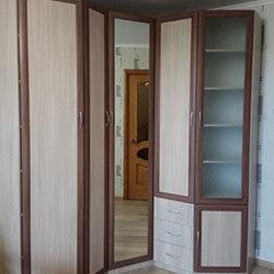 Встроенный шкаф-купе № 0975