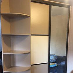 Встроенный шкаф-купе № 0980