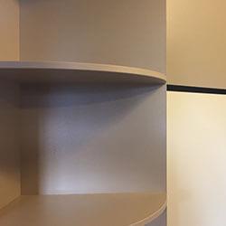 Встроенный шкаф-купе № 0981