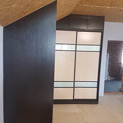 Встроенный шкаф-купе № 0984