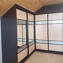 Встроенный шкаф-купе № 0985