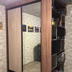 Встроенный шкаф-купе № 0986