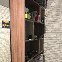 Встроенный шкаф-купе № 0987