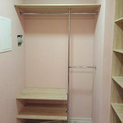 Встроенный шкаф-купе № 0990