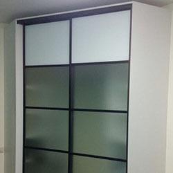 Встроенный шкаф-купе № 1010