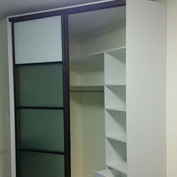 Встроенный шкаф-купе № 1011
