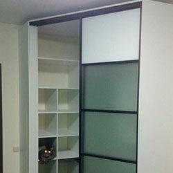 Встроенный шкаф-купе № 1012