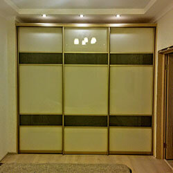 Встроенный шкаф-купе № 1019