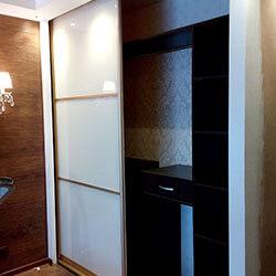 Встроенный шкаф-купе № 1024