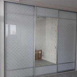Встроенный шкаф-купе № 1025
