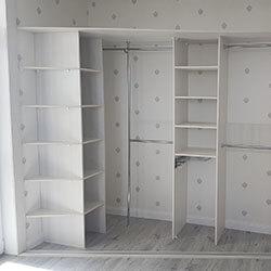 Встроенный шкаф-купе № 1026