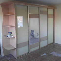 Встроенный шкаф-купе № 1031
