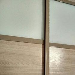 Встроенный шкаф-купе № 1035
