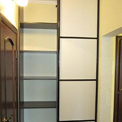 Встроенный шкаф-купе № 0114