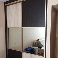 Встроенный шкаф-купе № 1048