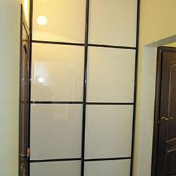 Встроенный шкаф-купе № 0115