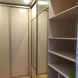 Встроенный шкаф-купе № 1055