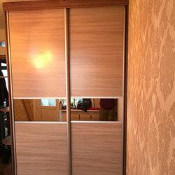 Встроенный шкаф-купе № 1064