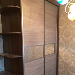 Встроенный шкаф-купе № 1065
