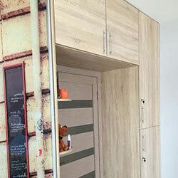 Встроенный шкаф-купе № 1070